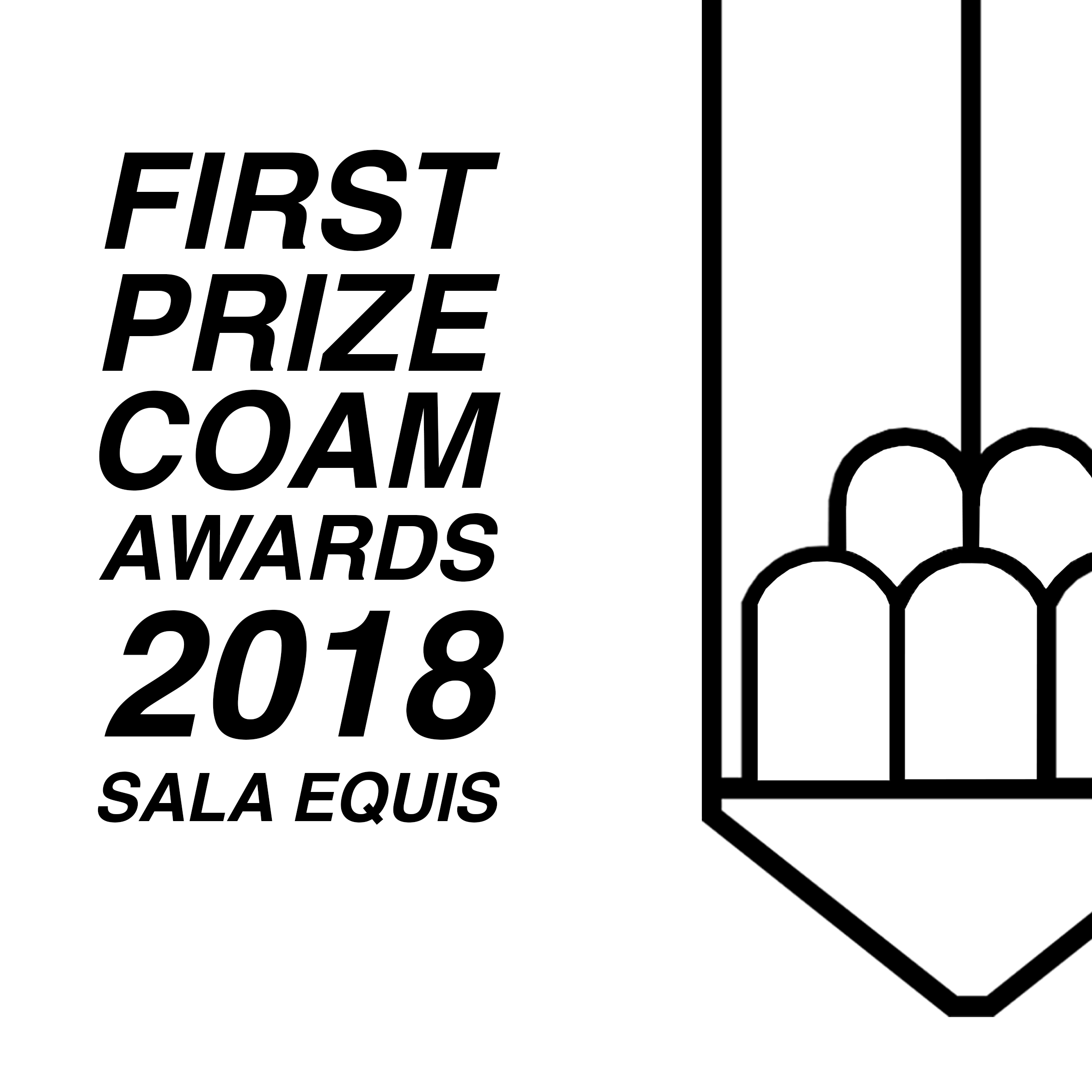 Plantea Estudio winner first price COAM awards